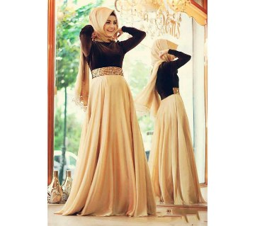 Unstiched Ladies Gown