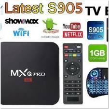 অ্যান্ড্রয়েড টিভি বক্স উইথ রিমোট-MXQ Pro