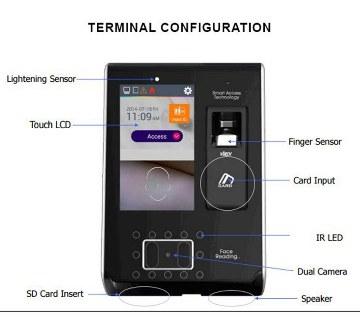 VIRDI AC7000 Access Control