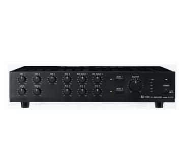 TOA A-1712 Microphone Mixing Amplifier (120 Watt)