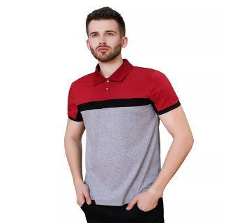 Short Sleeve Cotton Polo Shirt For Men