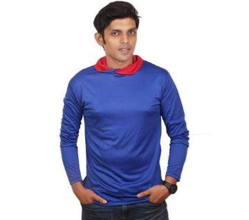 Full Sleeve Polyster T Shirt For Men