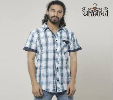 Cotton Half Sleeve Shirt for Men by aynaghor