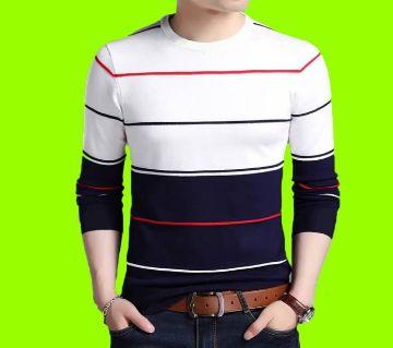 Mens Full Sleeve Cotton T Shirt
