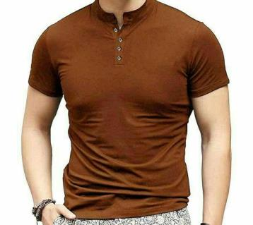 Menz Half Sleeve Cotton T-Shirt