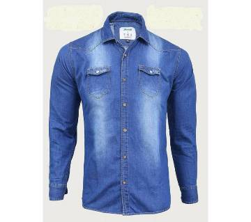 Gents Full Sleeve Denim Shirt