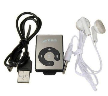 Portable Mini Rechargeable Shuffle MP3 Player