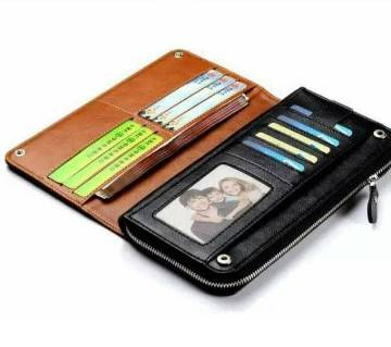 JLW long shaped leather wallet