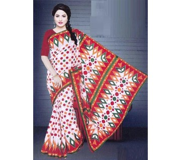 Boishakhi Hand Paint Printed Cotton Saree