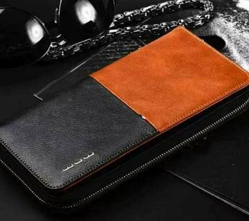JLW Long Shaped Leather wallet