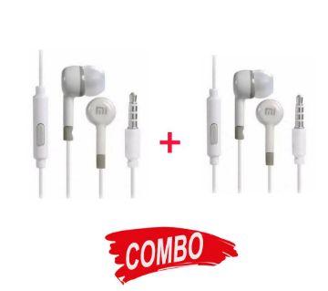 Mi In-ear Earphones - White Combo Offer (2) - Copy