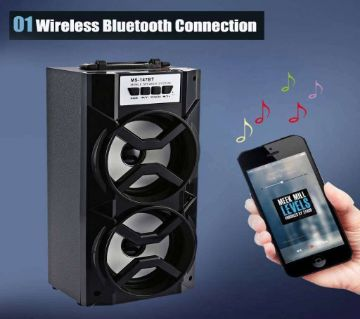 Bluetooth speaker (multi color)