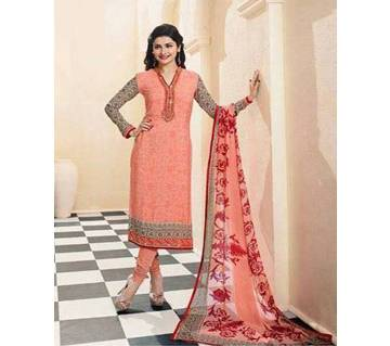 un stitched Indian Georgette embroidery three piece-copy