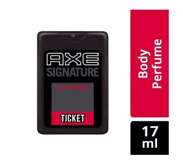 AXE Ticket Perfume, Intense, 17 ml (India)