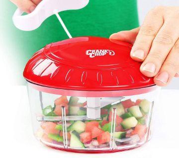 Crank Chop Food Chaper and Processor Multicala
