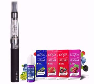 E-4 electric cigarette With flavour free