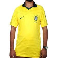 2018 World Cup Brazil Home Half Sleeve Home Jersey (Copy)