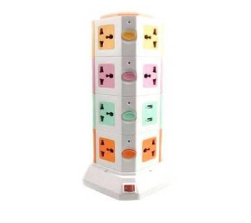 ৪ লেয়ার মাল্টিপ্লাগ সাথে ২টি USB পোর্ট