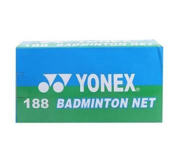 Yonex Badminton Net – Dark Red