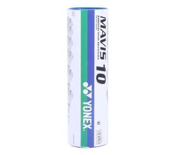 Yonex Mavis 10 Shuttle Cock - White