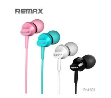 REMAX RM-501 Earphones With Microphone