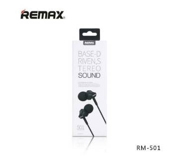 REMAX RM-501 In-ear Stereo Headphones With Mic
