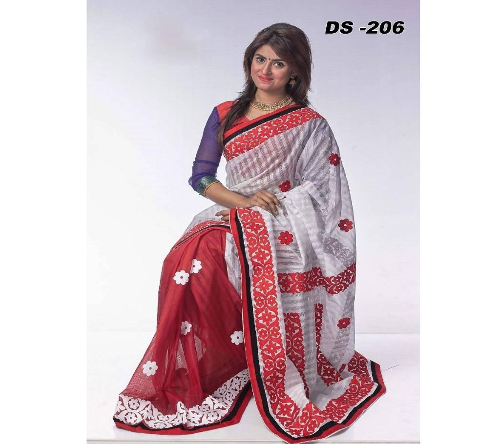 কোটা অ্যাপ্লিক শাড়ি বাংলাদেশ - 657714