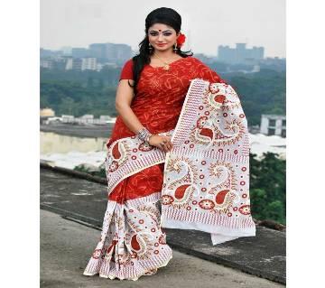 Skin botiques cotton Boishakhi Saree fs-6