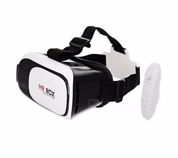 VR BOX 2.0 3D glass with remote controller
