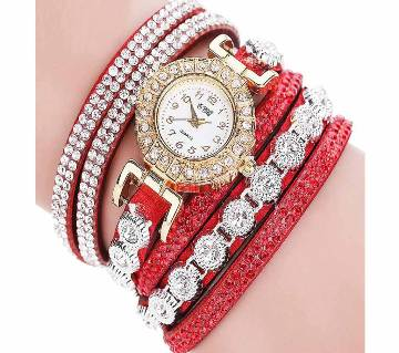 Analog Quartz Women Rhinestone Watch XCH61031550