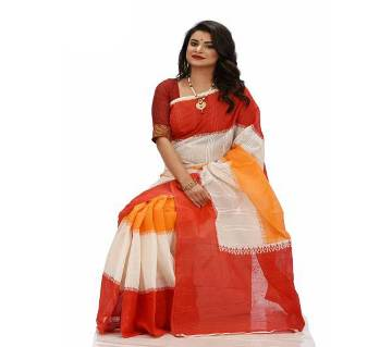 Botiques dupatta (cotton) saree