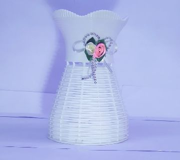 Plastic Artificial Flower Vase