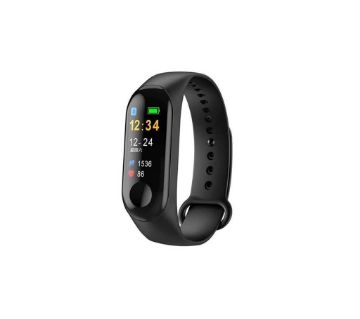 M3-smart band color monitor waterproof heart rate monitor pedometer