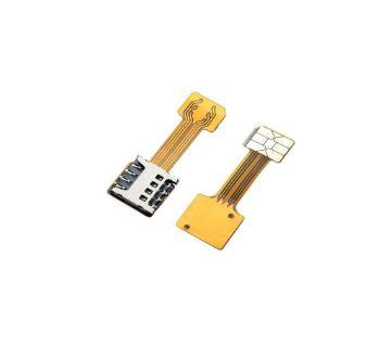 SIM Slot Adapter Dual SIM Card