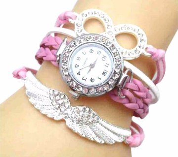 Bracelet type ladies watch