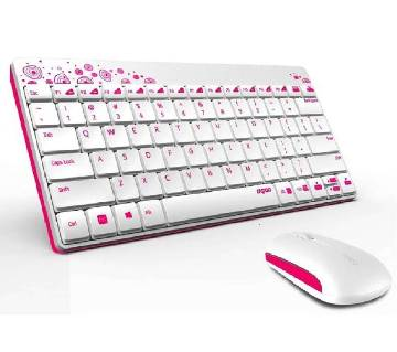 RAPOO 8000 Wireless Mouse & Keyboard Combo