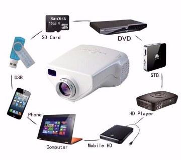 মিনি প্রোজেকটর (1080 HD)