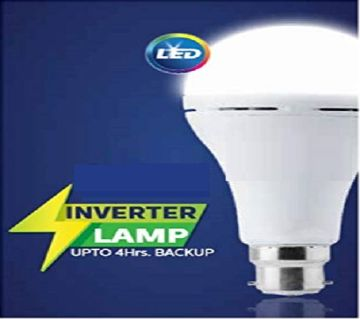 12 Watt Rechargeable Emergency LED Bulb for Home, Cool Daylight, Base B22