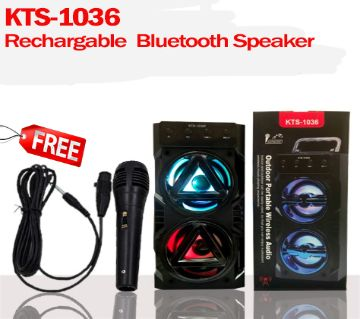 Outdoor Portable Wireless Bluetooth Stereo Dual Speaker