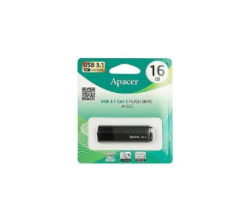 Apacer AH353 - USB 3.1 Pendrive - 16GB - Black