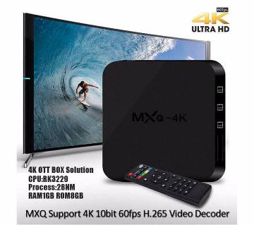 MXQ- 4K Android TV box- 1 GB