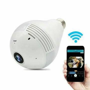 360 Degree Panoramic IP Camera Light
