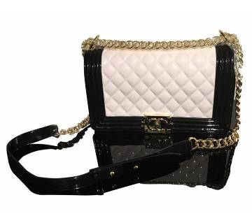 White & Back Ladies Bag