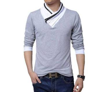 Gents Full Sleeve Casual T-Shirt