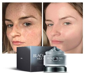 LAIKOU Black Pearl Mud Mask  85g PRC