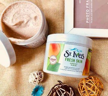 ST. IVES Fresh Skin Apricot Scrub-283g -USA