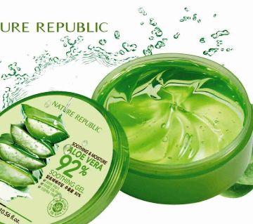 Nature Republic Aloe Vera 92% Soothing Gel -300ml -China