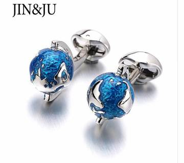 Globe Earth Cufflinks