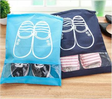 2pcs Non-woven Fabric shoe Storage bag