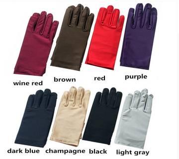 1Pair Spandex Gloves Serving